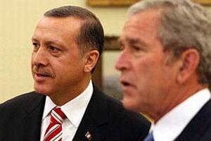 Erdoğan, Bush'un yemeğine katıldı.11135