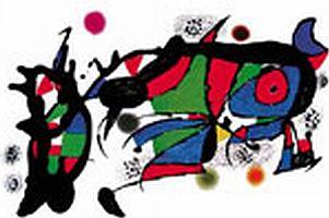 Joan Miró'nun eserleri İstanbullular'la buluştu.14856