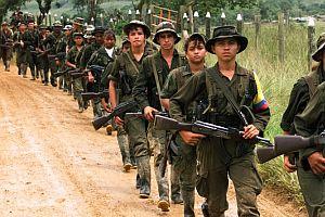Kolombiya'daki çatışmada 5 asker öldü.23525