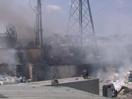 �kitelli Sanayi Sitesi'nde patlama meydana geldi.7646