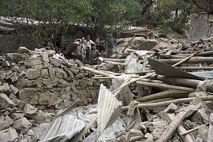 Yerle bir edilen PKK kamplarını AP görüntüledi FOTO.32086