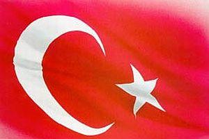 Yerdeki Türk bayraklı logolar söküldü.9918