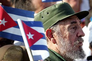 Castro, ABD heyetini kabul etti.17477