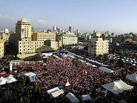 Lübnanlı esirler ülkesine döndü.16442