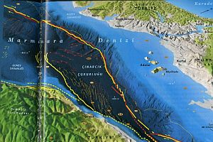 FLAŞ!!! Marmara Denizi'nde 3.8 büyüklüğünde deprem.22964