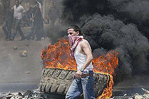 Beyrut'un güneyinde çatışma.17033