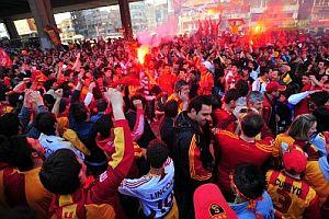 Galatasaray Londra'yı da ayağa kaldırdı.24981