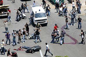 Beyrut yakınlarında çatışma: 11 ölü.22353