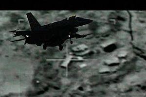 ABD'nin bombardıman uçağı düştü.10486