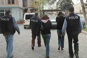 35 seks kölesi kadın yakalandı.16693