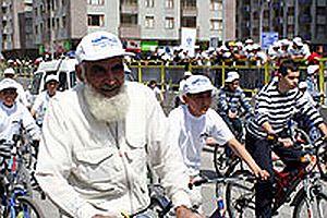 Konya'da bisiklet şenliği.25716