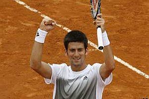Roma'da Djokovic şampiyon oldu.14760