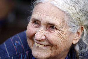 Doris Lessing, 'Nobel felaketi'ni anlattı.13363