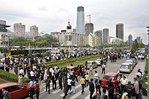 Çin nüfusu 400 milyon azaldı.21388