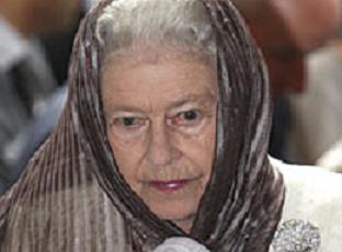 Kraliçe Elizabeth'ten mütevazilik.12088