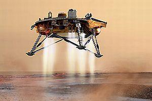 Phoenix Mars'a yaklaştı.11430