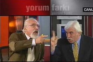 Kongar-Çandar kavgası NTV'nin 'Yorum Farkı'nı bitirdi.11417