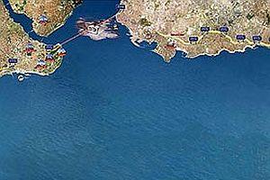 Marmaray'ın 5. tüpü de batırılıyor.16375