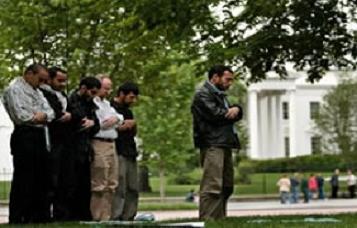 Beyaz Saray'da bir ilk gerçekleşti.19485
