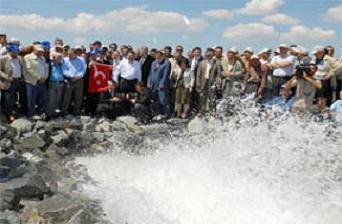 Ankara Kızılırmak suyuna kavuştu.16695