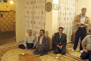 İran Cumhurbaşkanı Ahmedinejad oğlunu evlendirdi.15693