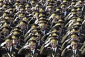 Emekli askerler 1 hafta üniforma giyebilecek.28695