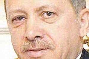 Başbakan Erdoğan'ın gözü böyle oldu.10988