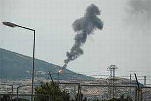 Siyah duman çıkaran TÜPRAŞ'a ihtar.9902