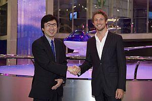 HondaJet'in ilk Avrupal�s� Jenson Button.14535