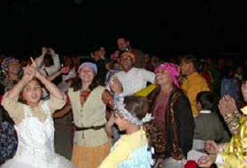 Kakava Festivali başladı.14758