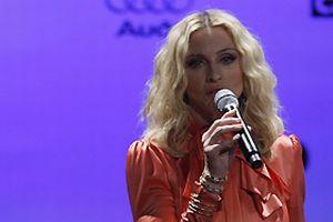 Madonna, verdiği konserde yuhalandı!.9610