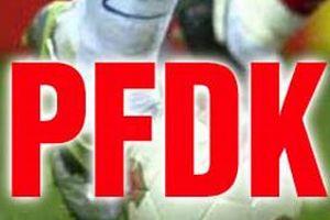 PFDK kulüplere ceza olup yağdı.11409