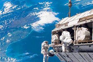 Uzay istasyonunun tuvaleti bozuldu.18437