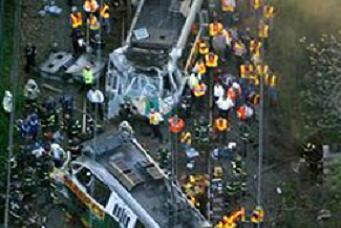 Boston'da trenler çarpıştı: 10 yaralı.19897