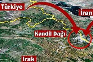 İran, PKK'nın yuvası Kandil'i bombaladı.24566