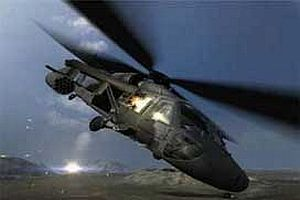 İngiltere'de askeri helikopter düştü: 2 ölü.9585