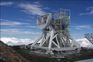 Herschel Teleskobu ışık alıyor.14843