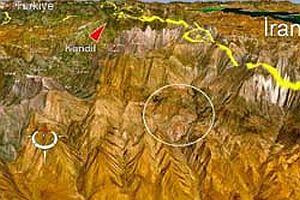 İran PKK'lı teröristleri bombalıyor.21005