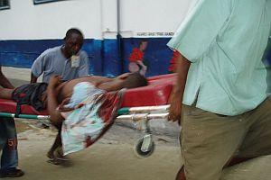 Liberya'da maçta izdiham: 8 ölü.12875