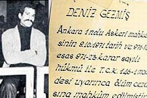 Deniz Gezmiş 52 dakikada öldü.19257