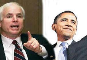 Obama ile McCain ateşkes ilan etti.11368