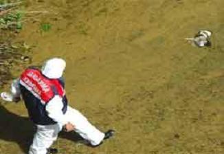 Bursa'da çocuklar derede el bombası buldu.11632