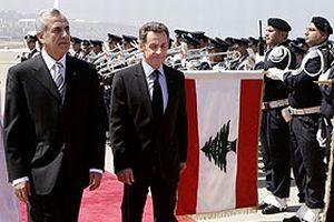 Sarkozy Lübnan'da.17519