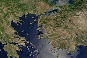 Akdeniz'de deprem fırtınası.16268