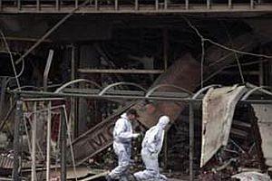 Tren istasyonunda patlama: 2 ölü.15386