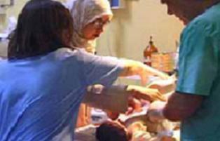 Kenenin ısırdığı kadın doğum yaptı.21450