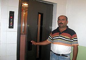 Asansör boşluğunda gelen ölüm.12013
