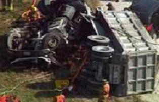 Konya'da 2 kamyon çarpıştı: 1 ölü.13068