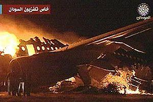 Sudan'da uçak düştü: 7 ölü.17313