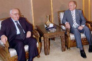 Suriye Başbakanı Itri İstanbul'da.14205